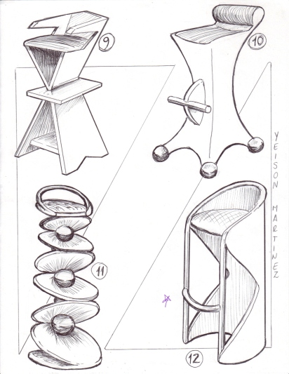 stool-chair-sketches